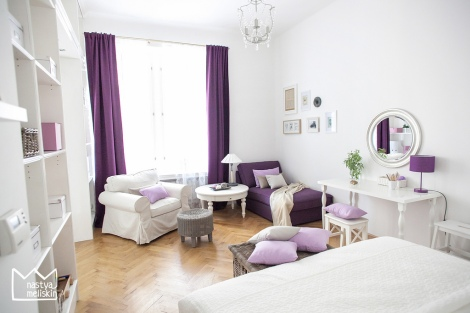 Apartments in Prague decoration by Nastya Meliskin