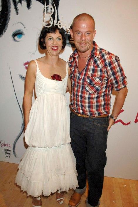 Alexander McQueen and Isabella Blow