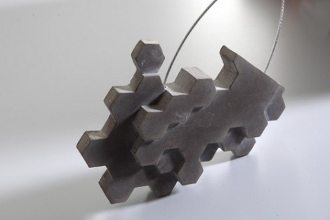 Glass concrete