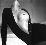 Lauren Hutton, Sweater by Van Raalte, Great Exuma, the Bahamas, October 1968