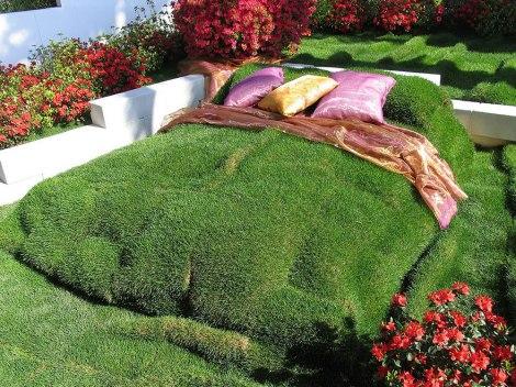 Imagine how the sleep there feels like